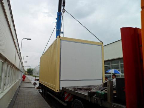 Stacja transformatorowa w kontenerze