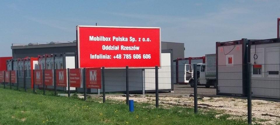 Kontenery w Rzeszowie – nowy oddział Mobilbox