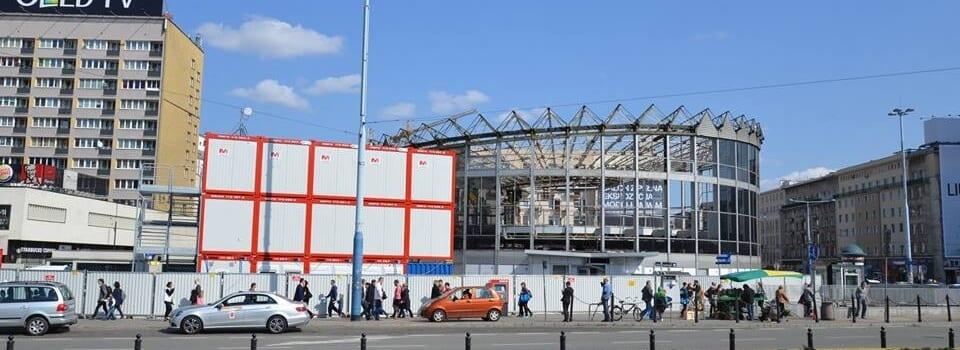 Zaplecze budowlane – Rotunda Warszawska